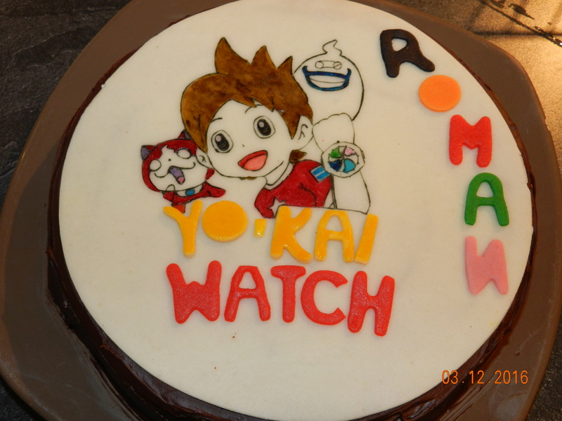 Decor Pour Gateau Yokai Watch