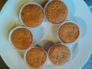 Muffins aux flocons d'avoine & Amandes