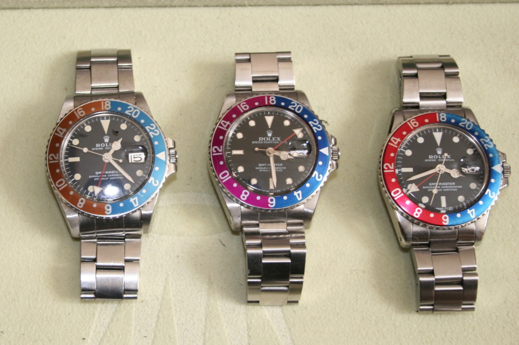 Pepsi bezel fading - Rolex Forums - Rolex Watch Forum