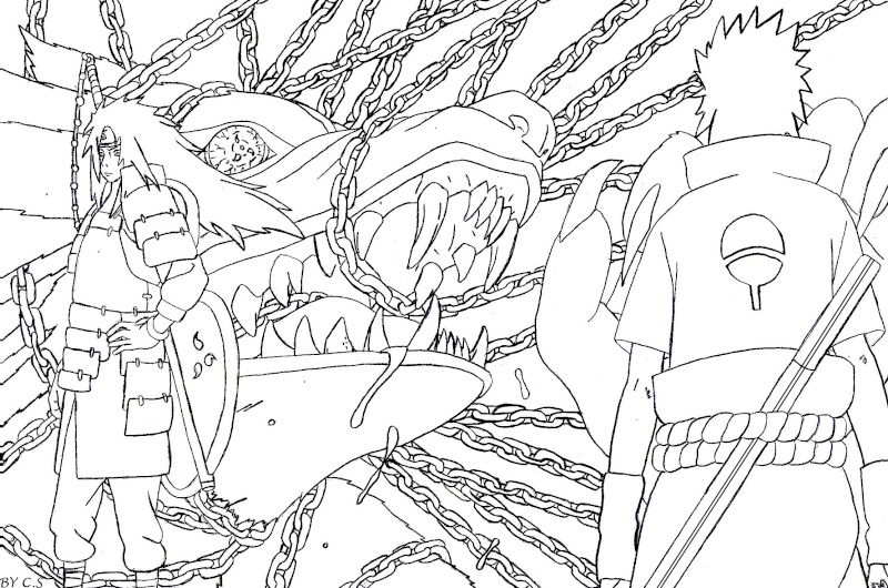 naruto chapter 673 coloring pages - photo#45