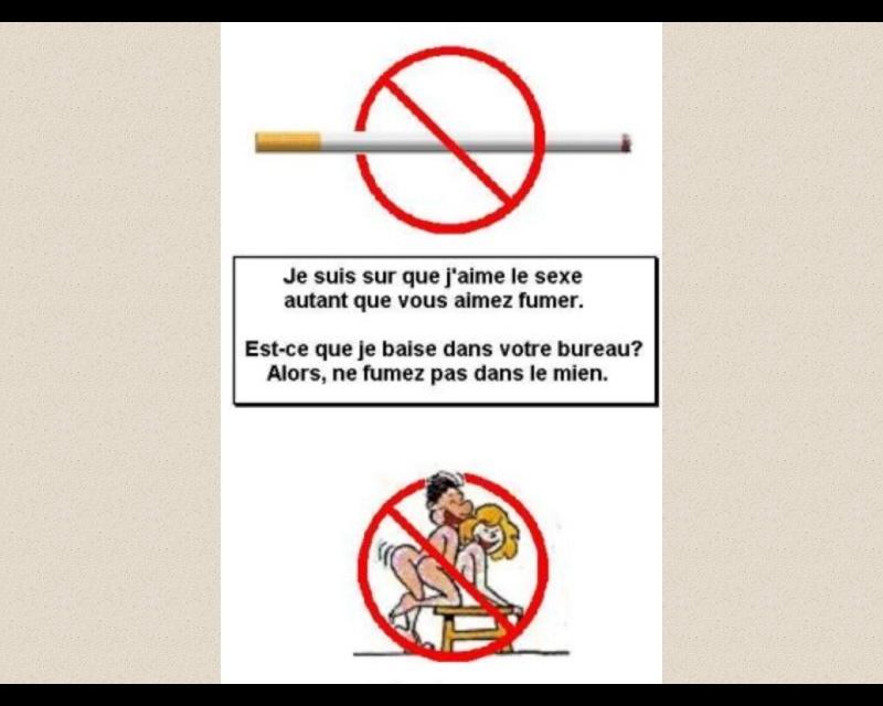 Que je recevrai si je cesserai de fumer