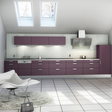 couleur murs de cuisine cuisine prune. Black Bedroom Furniture Sets. Home Design Ideas