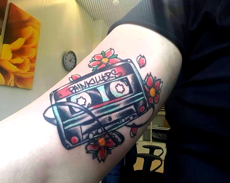 Gaslight anthem inspired tattoos photos of mine feel for Painkillers for tattoos