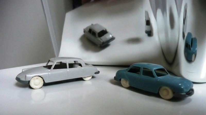Les véhicules miniatures HO