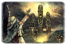 Sakrální obětiště pohanských kultů
