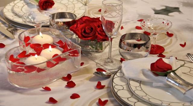 Dia dos namorados ideias de como decorar a mesa somos - Ideas cenas romanticas ...