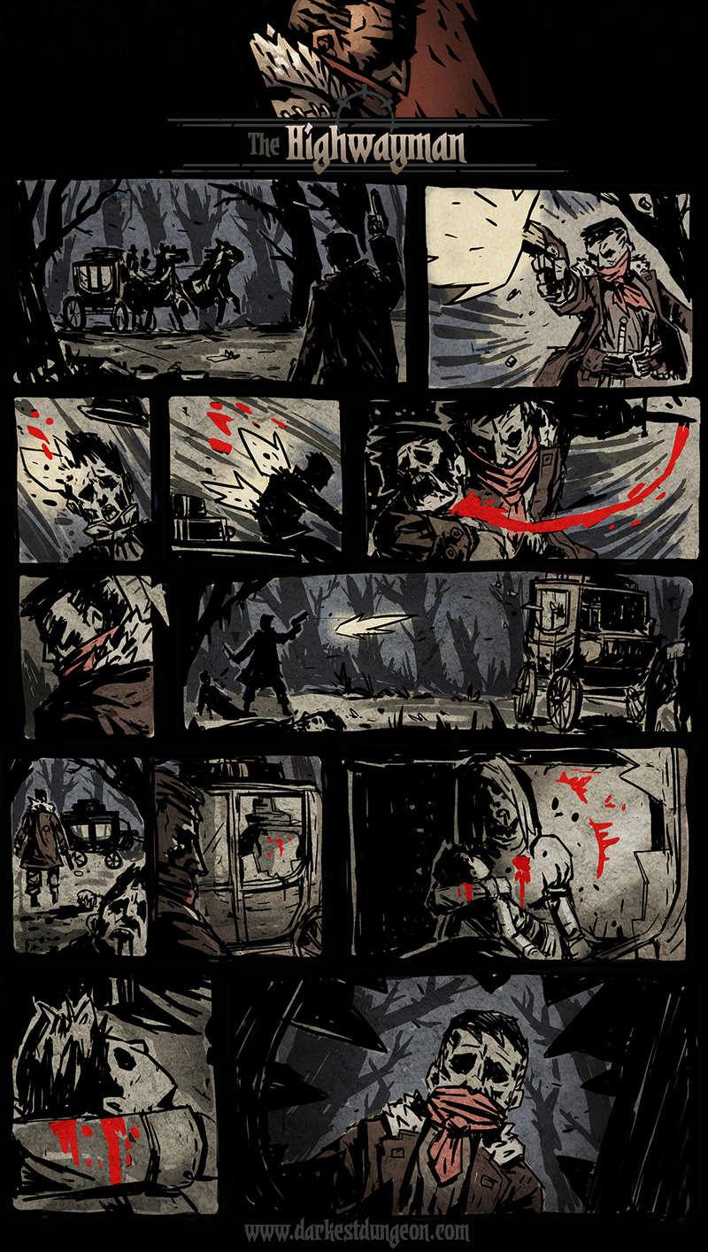 Darkest Dungeon - Highwayman's comic