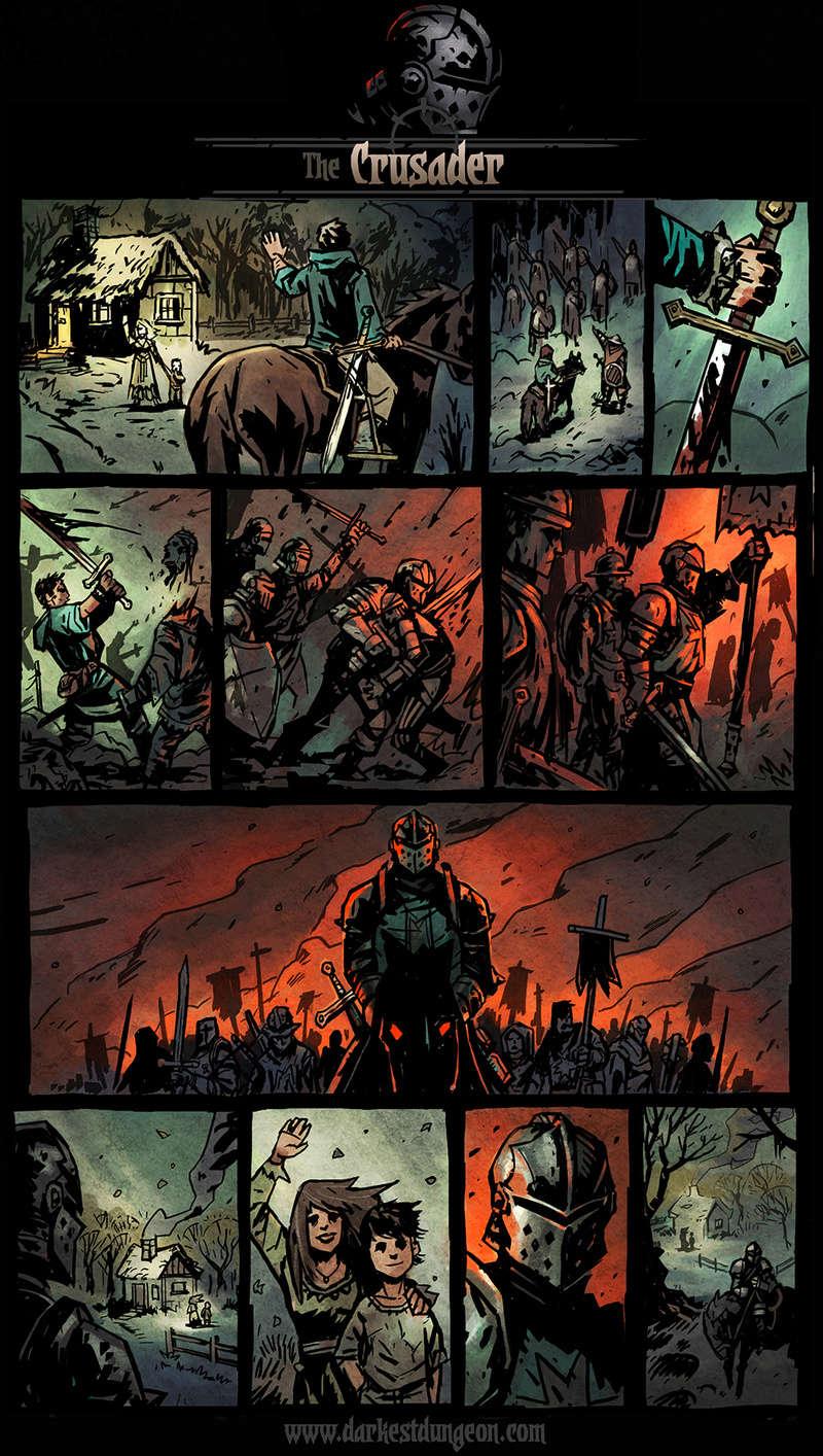 Darkest Dungeon - Crusader's comic