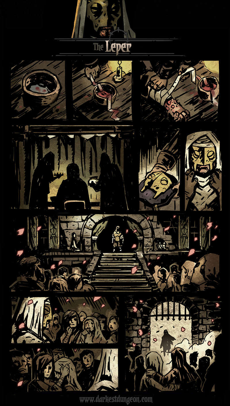 Darkest Dungeon - Leper's comic