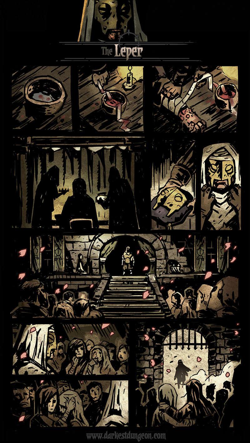 Darkest Dungeon - Leper's comic