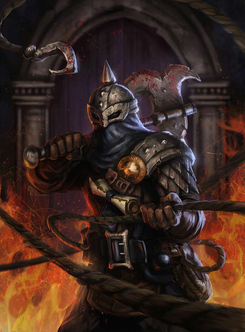 Darkest Dungeon - Bounty Hunter