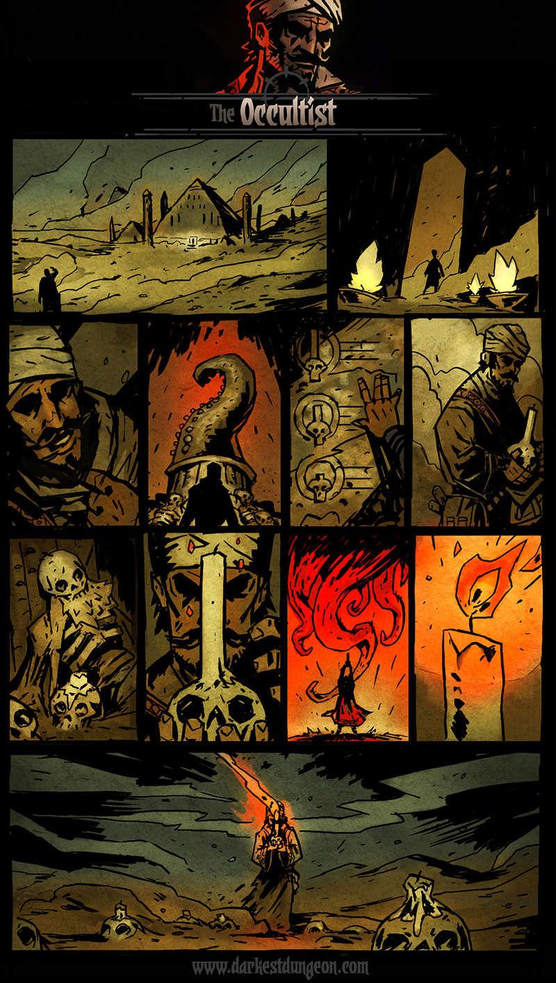 Darkest Dungeon - Occultist's comic