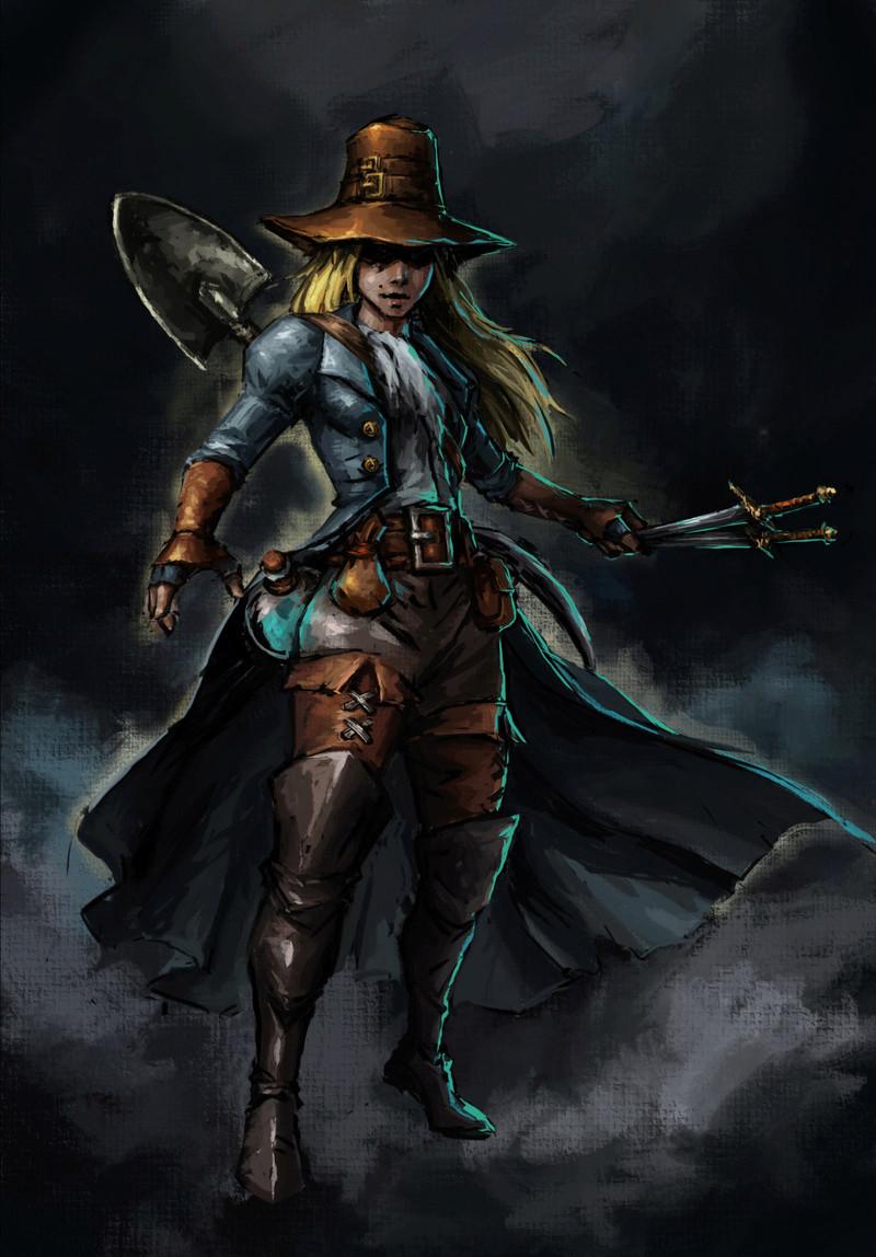 Darkest Dungeon - Grave Robber