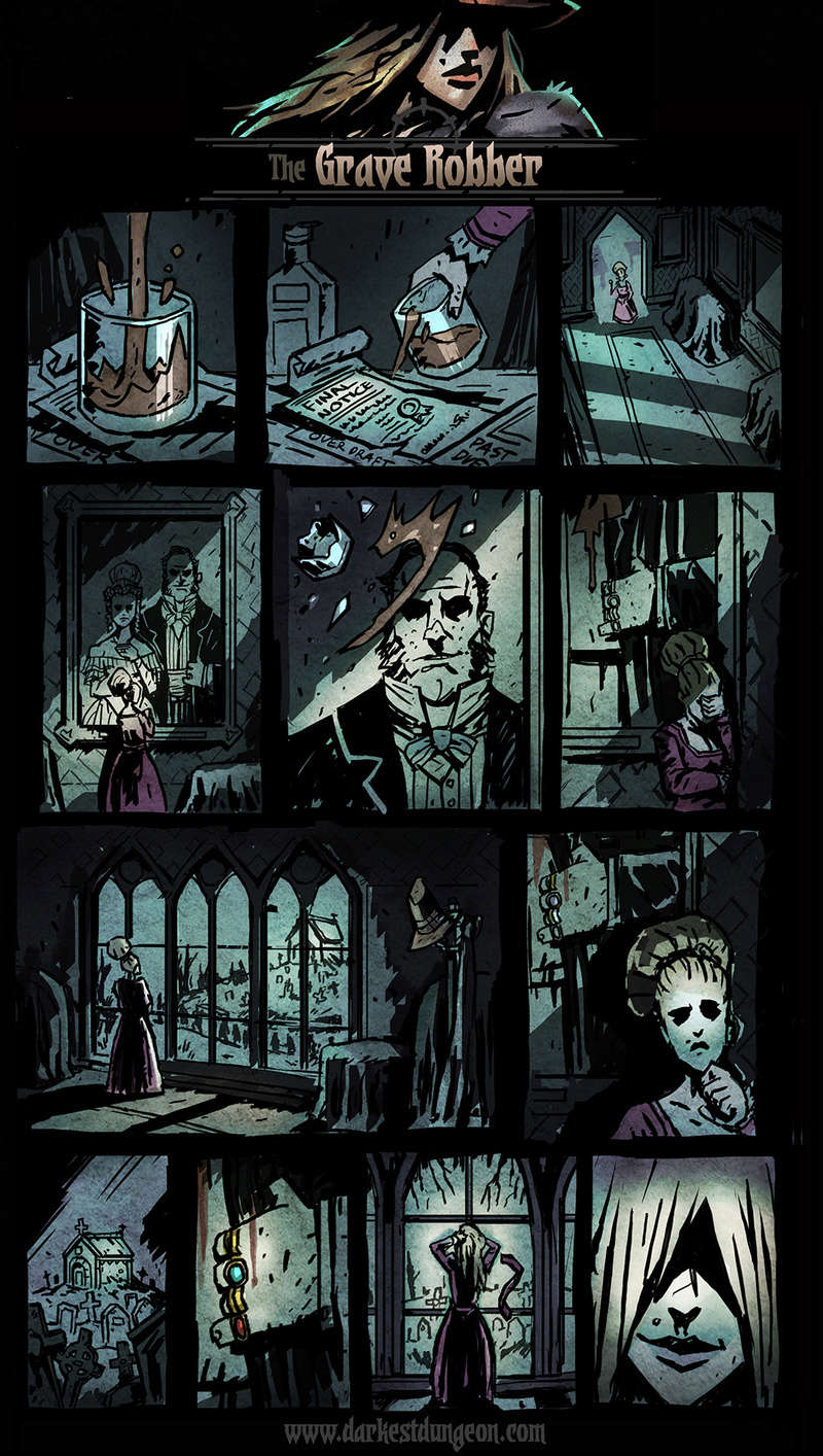 Darkest Dungeon - Grave Robber's comic