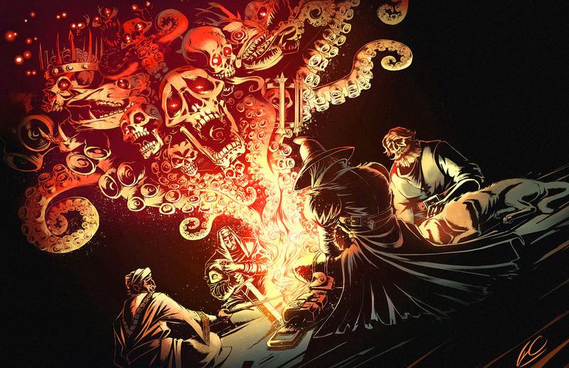Darkest Dungeon - Campfire