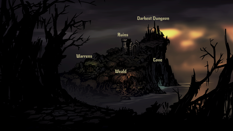 Darkest Dungeon - Map