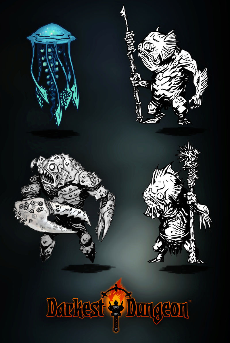 Darkest Dungeon - Creatures of the Coves