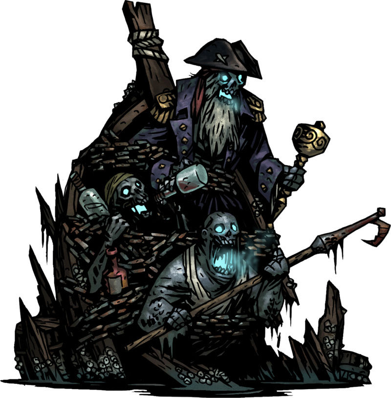 Darkest Dungeon - Drowned Crew