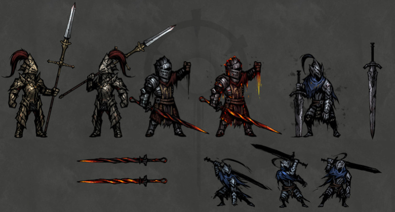 Darkest Dungeon - Dark Souls Skin Mod