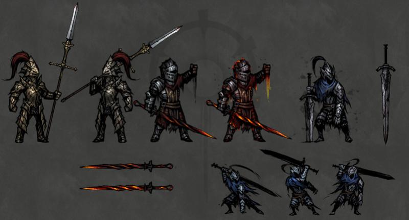 Darkest Dungeon - Dark Souls Skin Mod