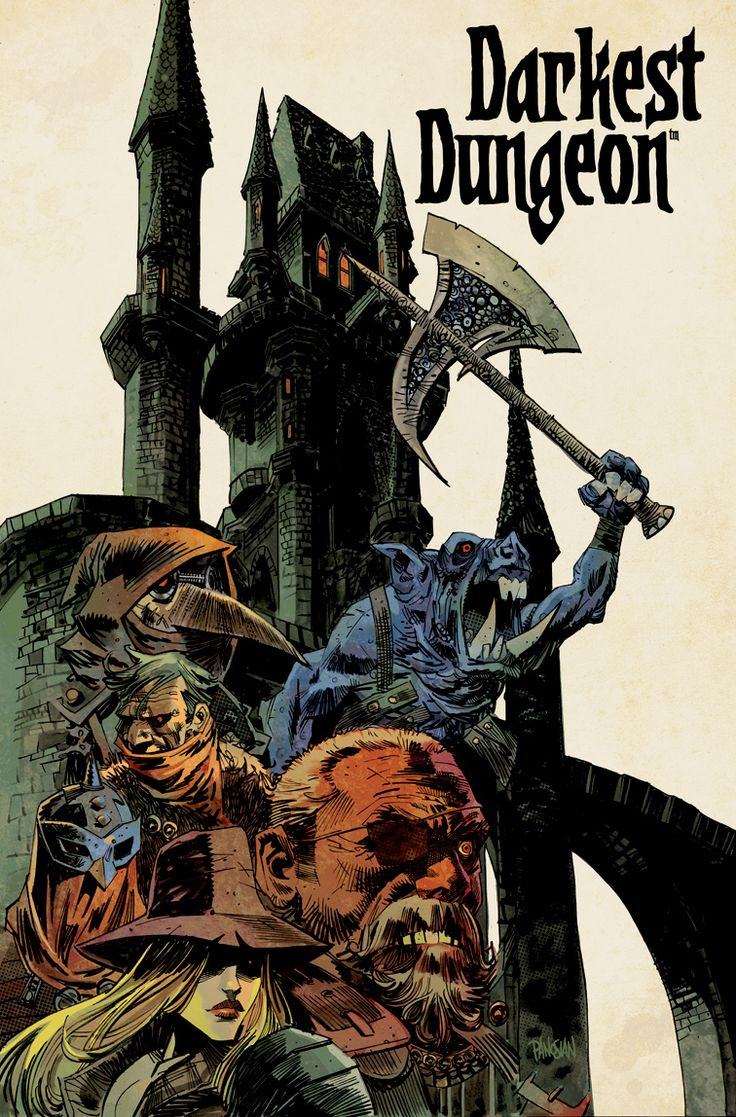 Darkest Dungeon - Promotionnal poster