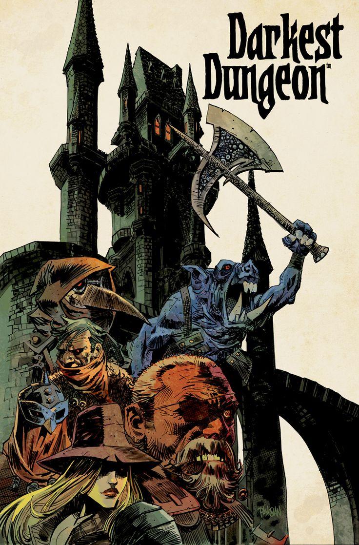 Darkest Dungeon - Promotionnal poster