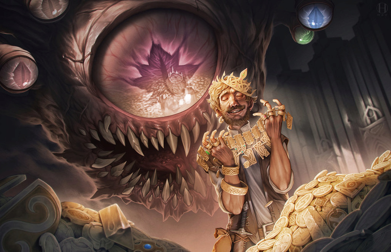 Dungeons and Dragons - Beholder