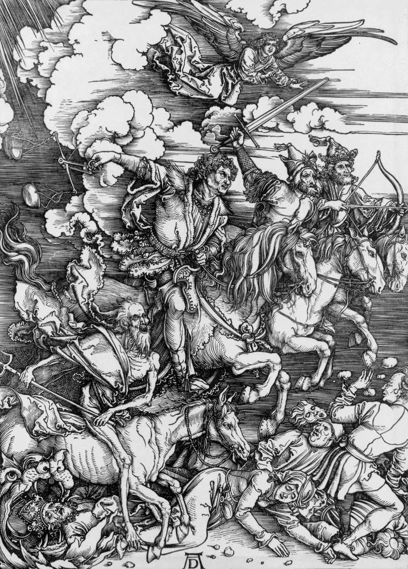 Albrecht Dürer - The Four Horsemen (from the Apocalypse)