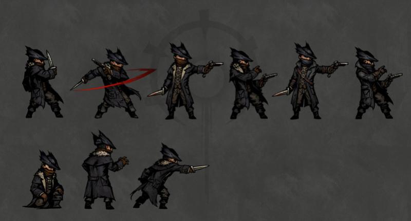 Darkest Dungeon - Bloodborne Skin Mod