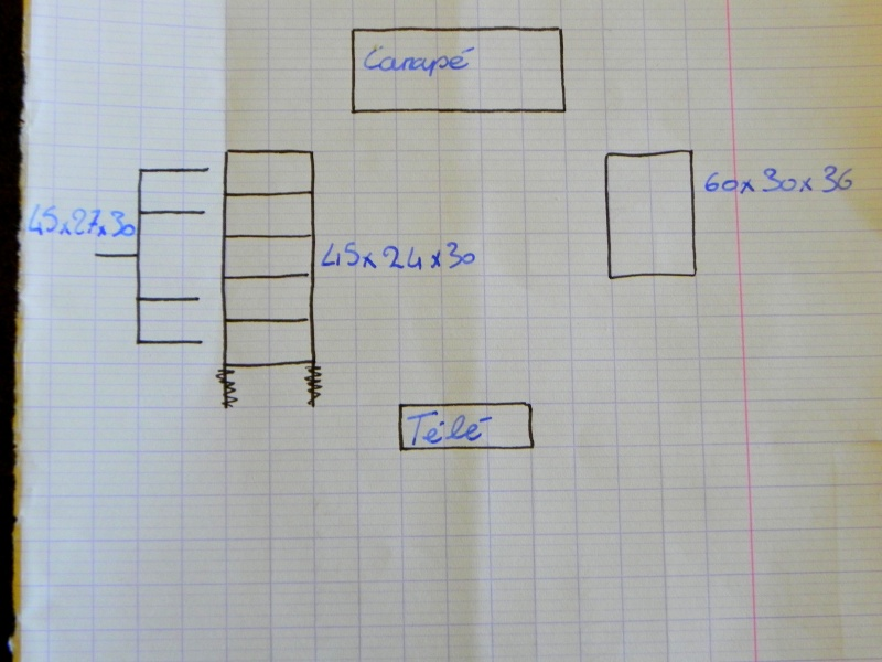Plan construction aquarium dans le salon