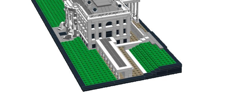 Afficher le sujet - [MOC] Architecture : la Maison Blanche