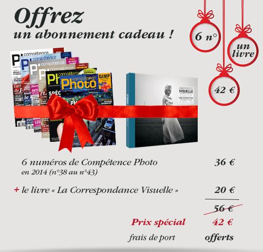 Compétence Photo propose une offre d'abonnement spécial cadeau pour Noël