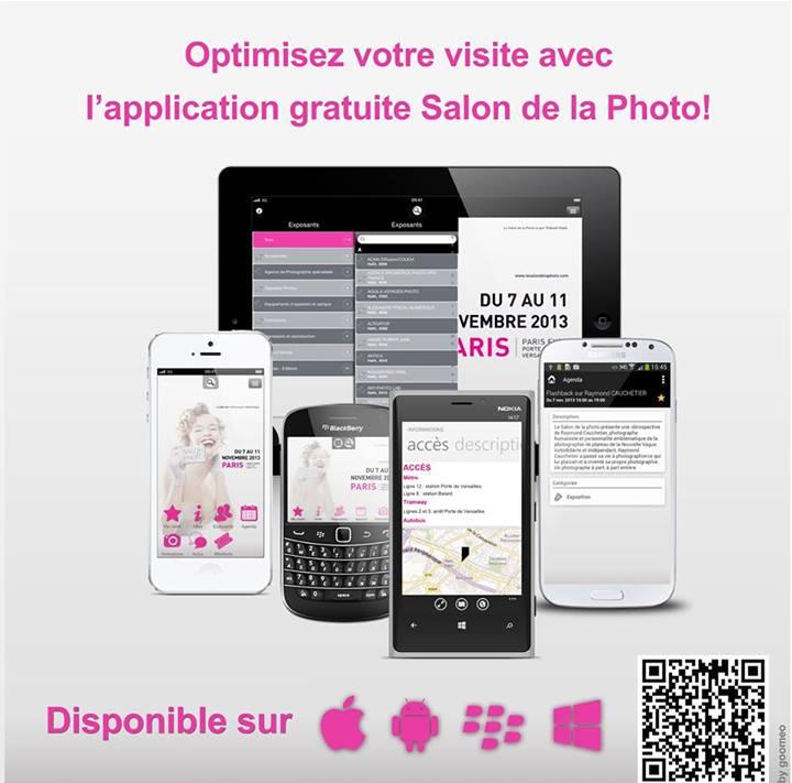 Optimisez votre visite du Salon de la Photo avec son application officielle