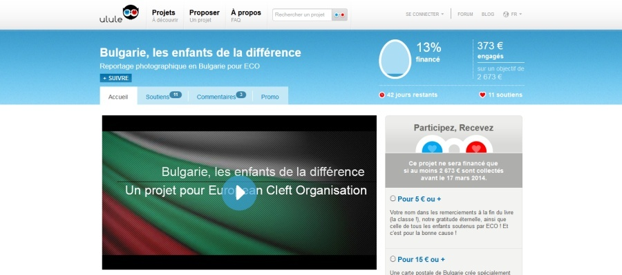 Interview de Stéphane Simon sur le projet Bulgarie, les enfants de la différence