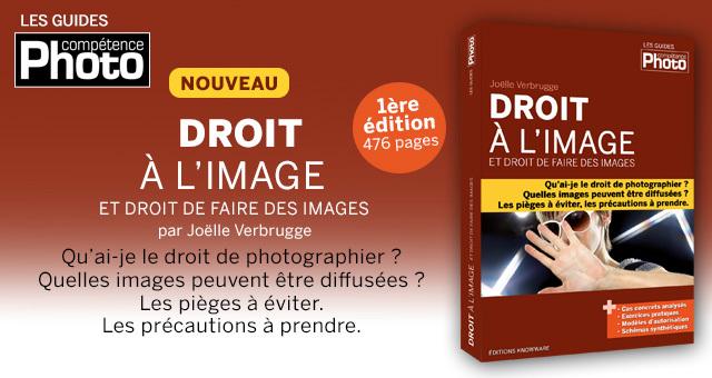 Droit à l'image et droit de faire des images, nouveau livre de Joëlle Verbrugge