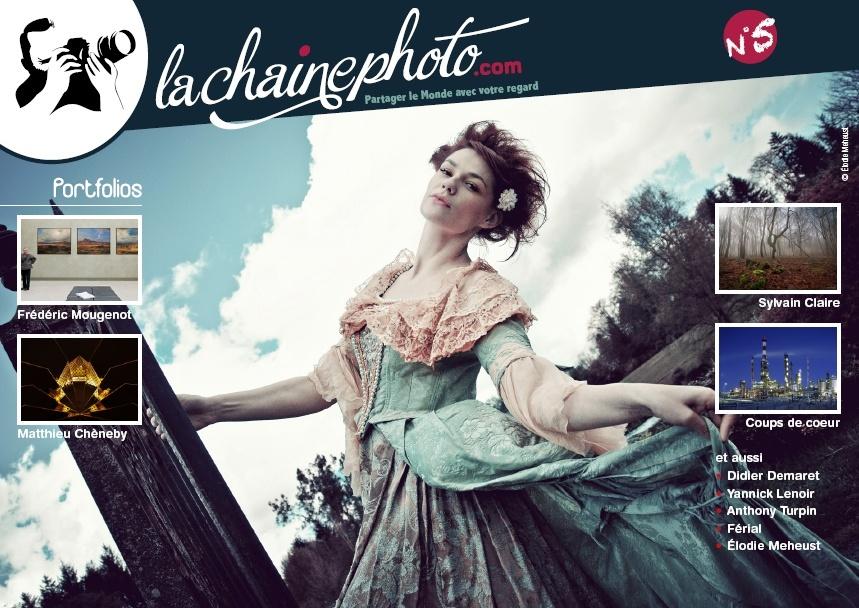 Le numéro 5 du magazine La Chaîne Photo vient de paraître