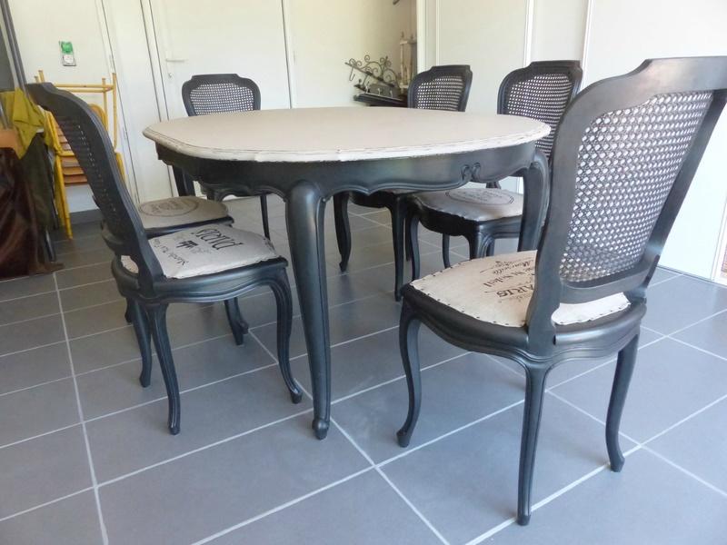 conseils d co quelle table avec chaises louis philippe. Black Bedroom Furniture Sets. Home Design Ideas