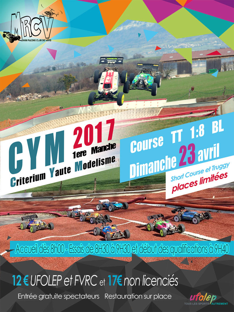 Affiche 1ere manche CYM