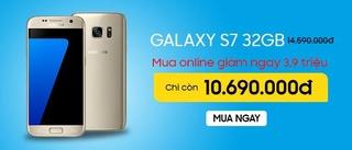 SAMSUNG GALAXY S7 32GB KHUYẾN MÃI