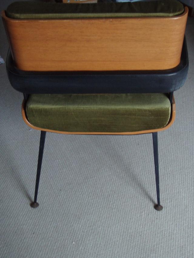 fauteuil alain richard design 1950 60. Black Bedroom Furniture Sets. Home Design Ideas