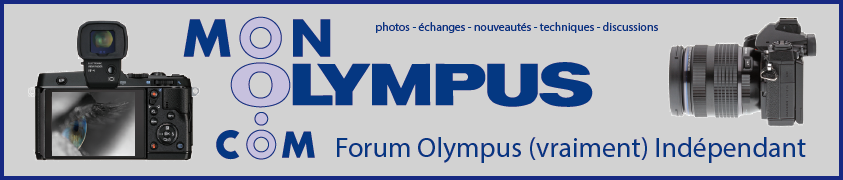 MonOlympus.com : le forum Olympus (vraiment) indépendant