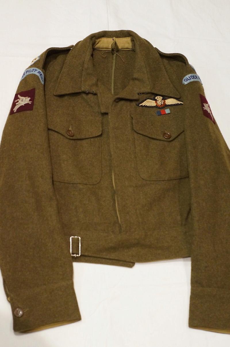 WW2 British RAF Glider Pilot Regiment Battle Dress - Wehrmacht