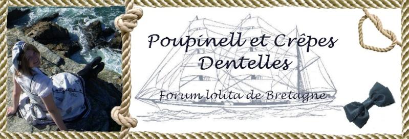 Poupinell et crêpes dentelles