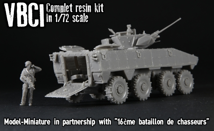 VBCI available on Model Miniature 1/72 scale - Missing-Lynx