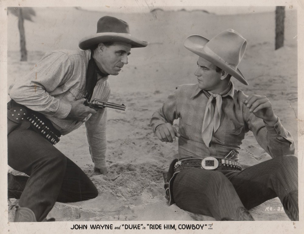Ride Him, Cowboy Ride Him Cowboy 1932 Page 2 The 1930s John Wayne Message