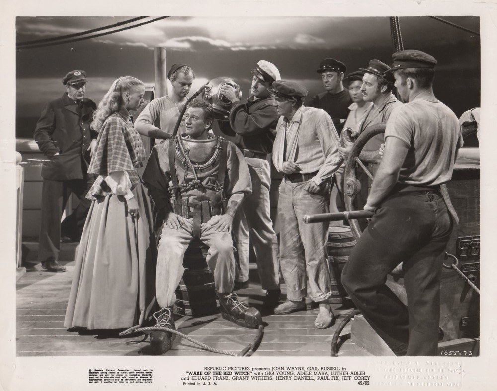 Wake Of The Red Witch (1948) - The 1940's - John Wayne ...