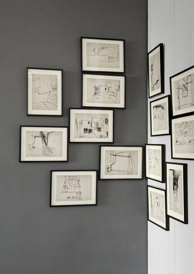 Comment disposer un cadre sur un mur pictures to pin on - Comment disposer des tableaux sur un mur ...