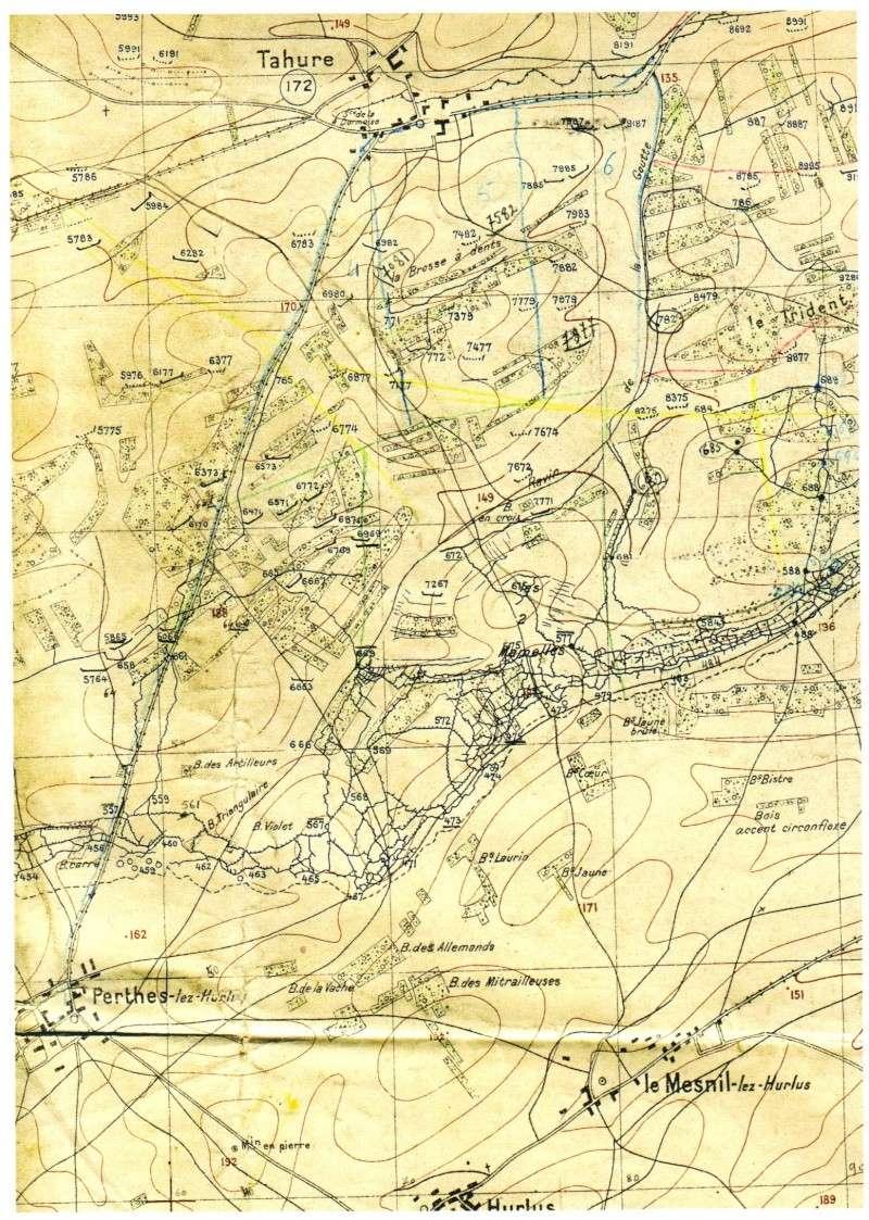 Cartes du front for Ville du 51