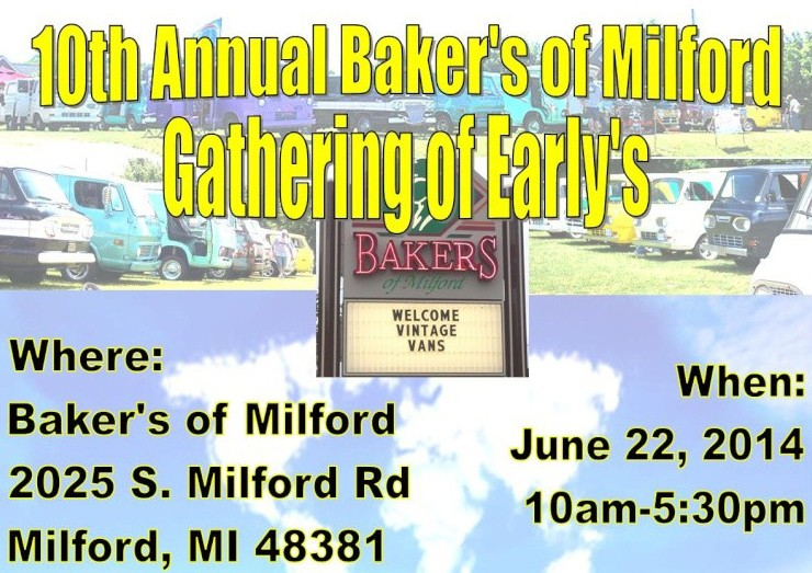 BAKERS GATHERING OF EARLYS