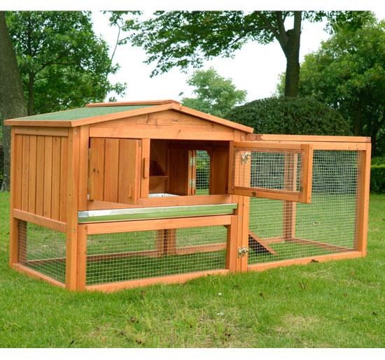 Le terrier des lapins afficher le sujet besoin de for Cage lapin exterieur